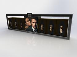 Category shelf decoration 3D