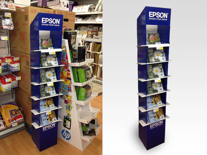 Ink cartridge display