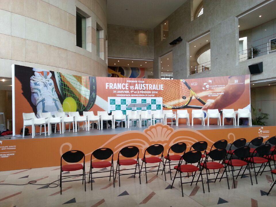 CG de Vendée pour la Coupe Davis
