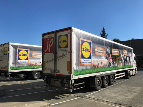 ioc group camion lidl TRAXX