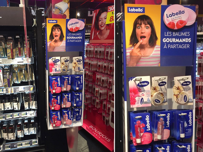 Cross merchandising en carton