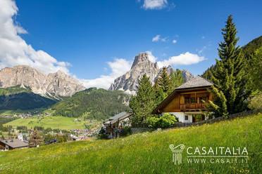 Chalet bei Corvara/Dolomiten