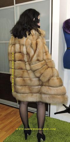 Шуба из куницы BULBERT соболя норковая шуба www.showroom-mex.com