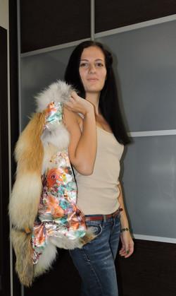 Пошив жилетки из лисы Москва