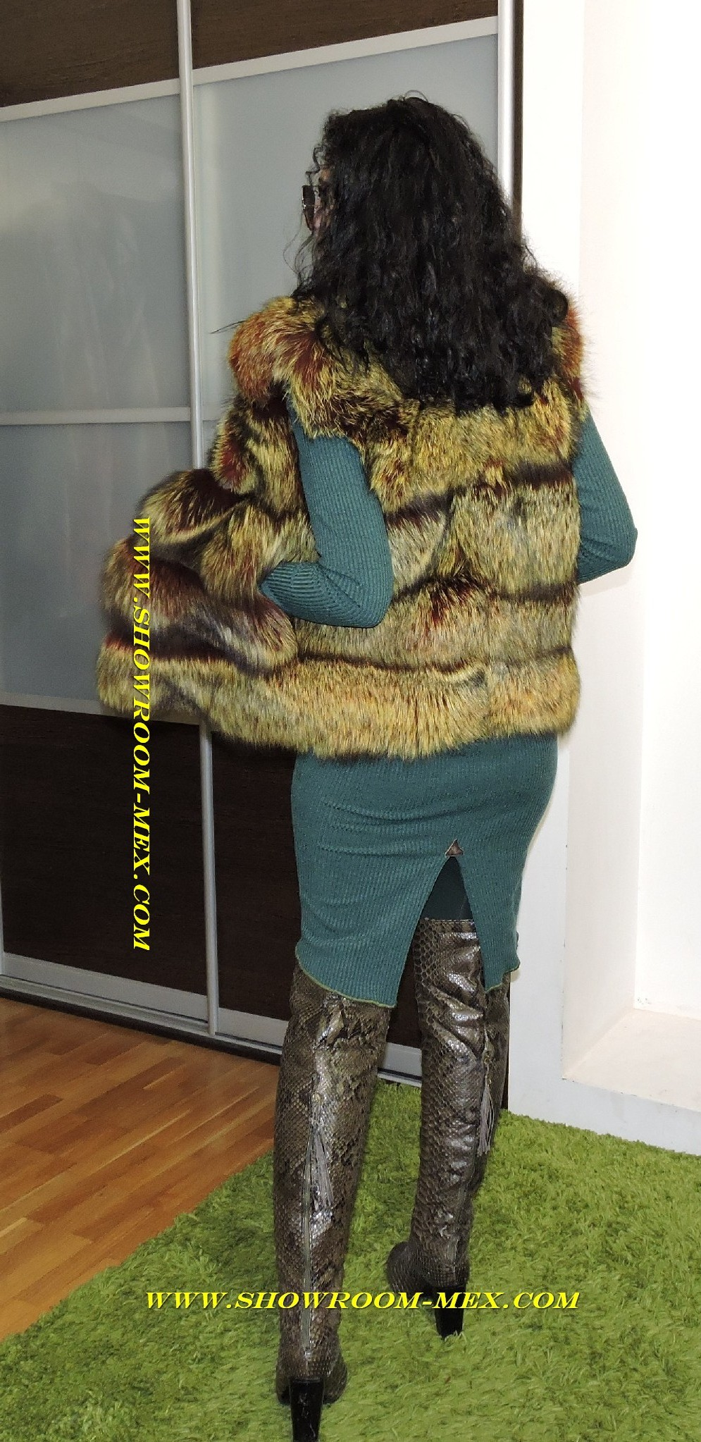 www.showroom-mex.com жилетка из лисы попечечка люкс 2017 s size 13.jpg