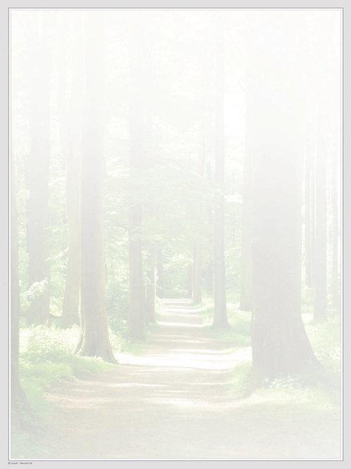 Wald grün-Bäume50 - ab 10 Stück inkl. Druck