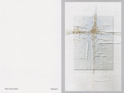 Kreuz modern-Raphael 3 - ab 10 Stück inkl. Druck