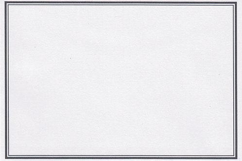 Trauerkuvert C6 - 660020 (162x114mm) - ab 10 Stück