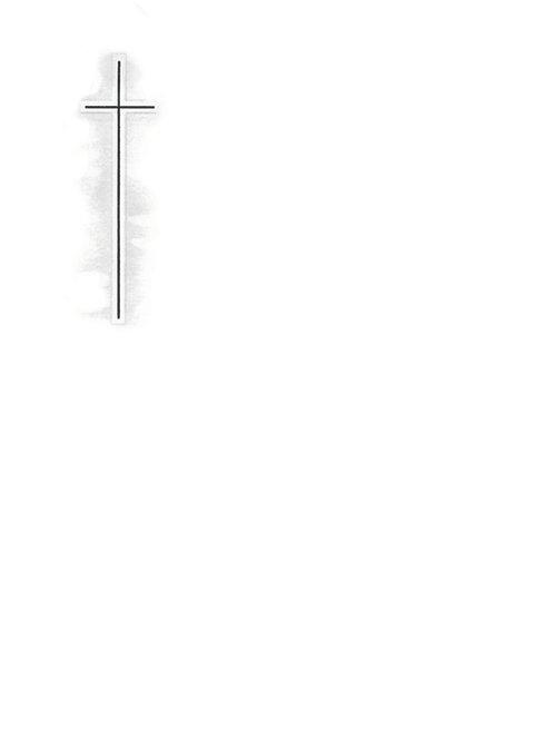 Silberkreuz mit Schatten-31317762 - ab 10 Stück inkl. Druck
