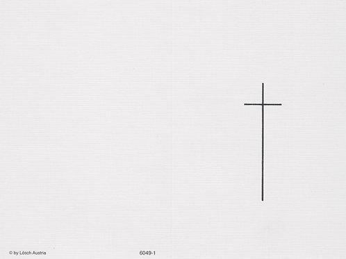 Kreuz-6049-1 - ab 10 Stück inkl. Druck