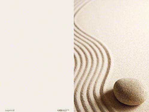Welle im Sand mit Stein-Lugano62 - ab 10 Stück inkl. Druck