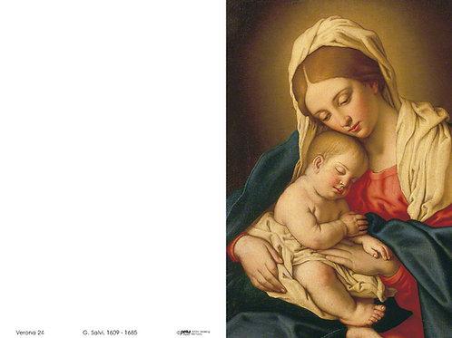 Madonna mit Kind-Verona24 - ab 10 Stück inkl. Druck
