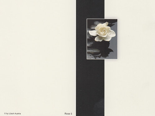 Rose 5 - ab 10 Stück inkl. Druck