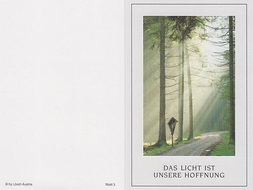 Waldweg-Wald 3 - ab 10 Stück inkl. Druck