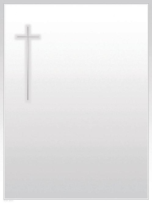 Silberkreuz-6049-10 - ab 10 Stück inkl. Druck