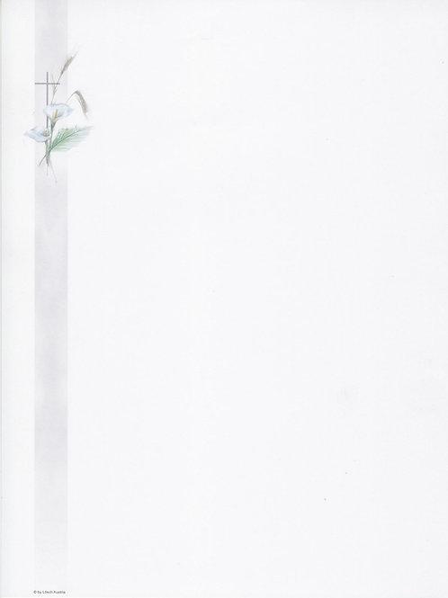 Kreuz mit Calla-6035-10 - ab 10 Stück inkl. Druck