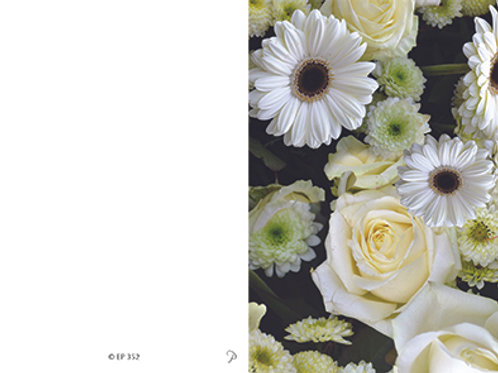 Blüten-EP352 - ab 10 Stück inkl. Druck