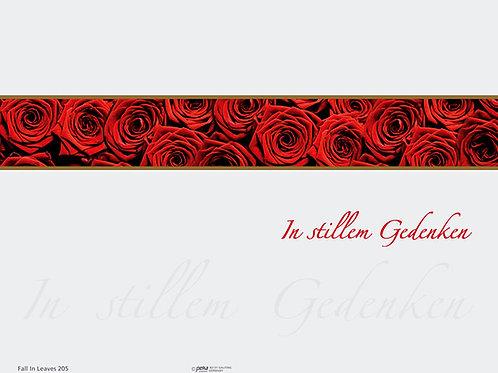 Rote Rosen-FallinLeaves205 - ab 10 Stück inkl. Druck