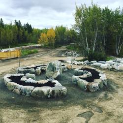Takhini Hotspring Flower bed, Yukon