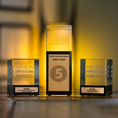 HIFIVE WINS!: Gold Addy (2), Silver Addy (1)