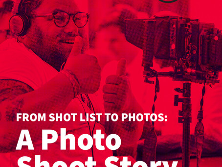 From Shot List to Photos: A Photo Shoot Story