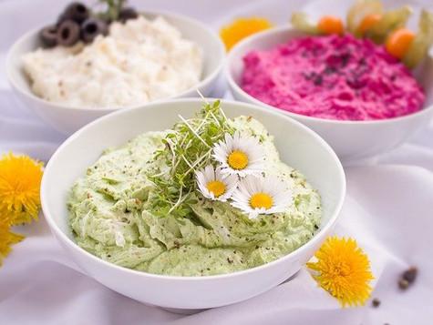 Gemüse-Hummus