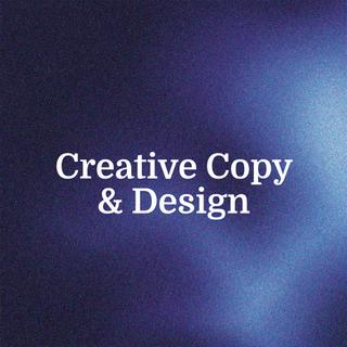 Creative Copy & Design