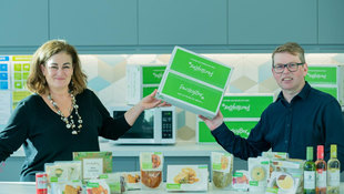 Cheques do nicely for Parsley Box, food supplier to baby boomers