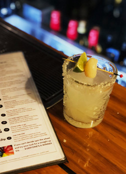 Knox Street Bar 'Lychee Margarita'