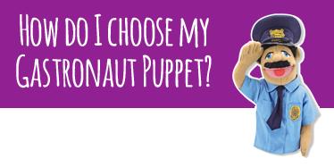 Gastronauts Puppets