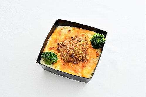 チーズとカレーのドリア