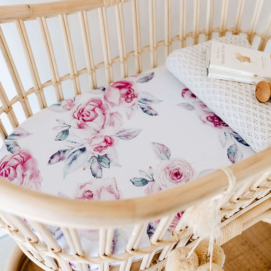 LILAC SKIES BASSINET / CHANGE PAD COVER