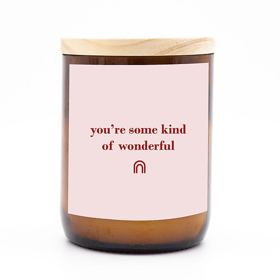Happy days candle - some kind of wonderful
