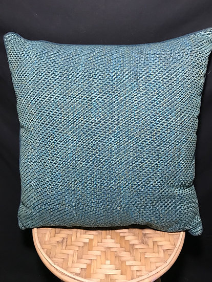 CHISWICK TEAL/GREEN CUSHION