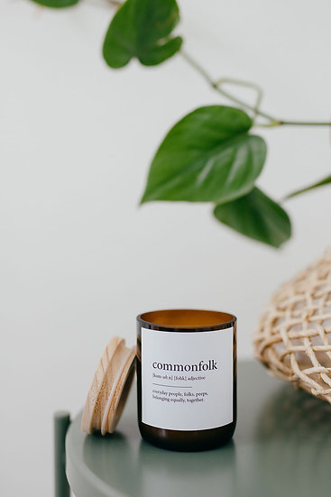 DICTIONARY SOY CANDLE - COMMONFOLK