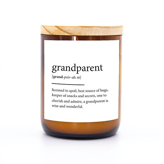 Dictionary quote candle grandparent