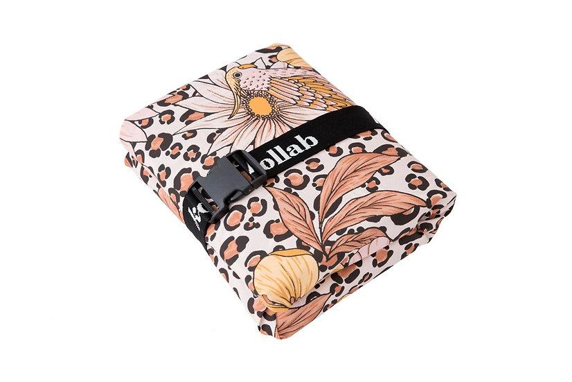 Picnic Mat 1.2 x 1.2 Leopard Floral