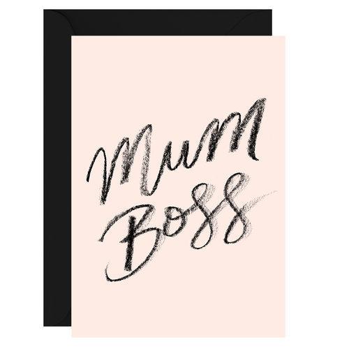 MUM BOSS CARD