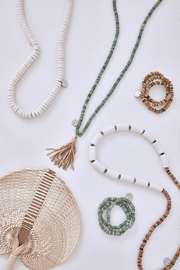 SABLE TASSEL NECKLACE