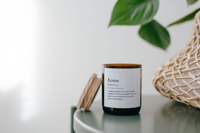 DICTIONARY SOY CANDLE - HOME