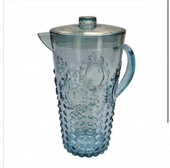 Acrylic Gemstone Jug Aqua