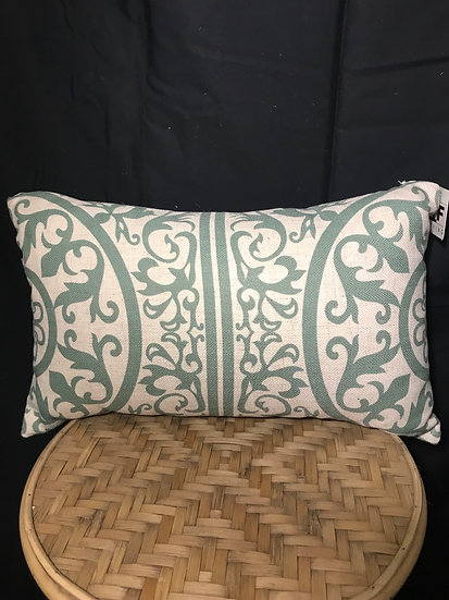 LINEN CUSHION JADE