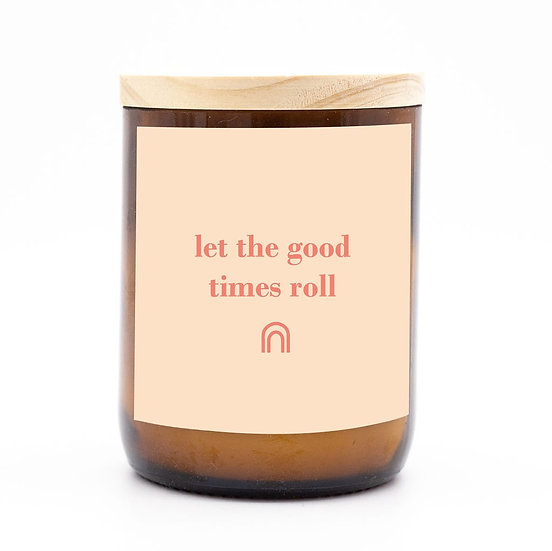 Happy days candle - let the good times roll