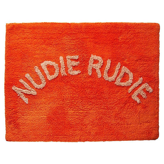 NUDIE RUDIE BATH MAT TANGERINE