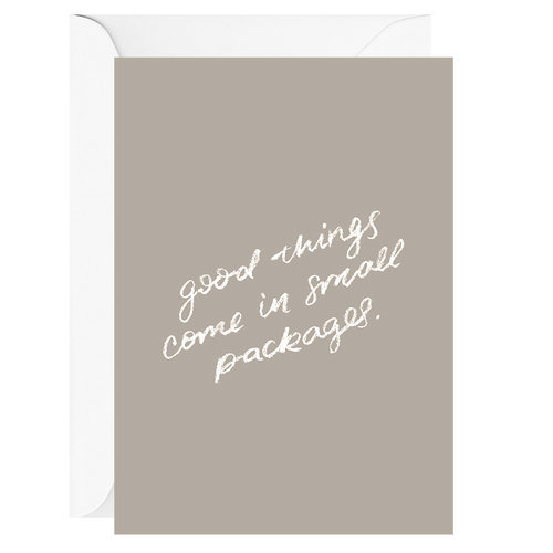 GOOD THINGS CARD