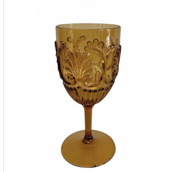 Acrylic Flemington Wine Glass Amber
