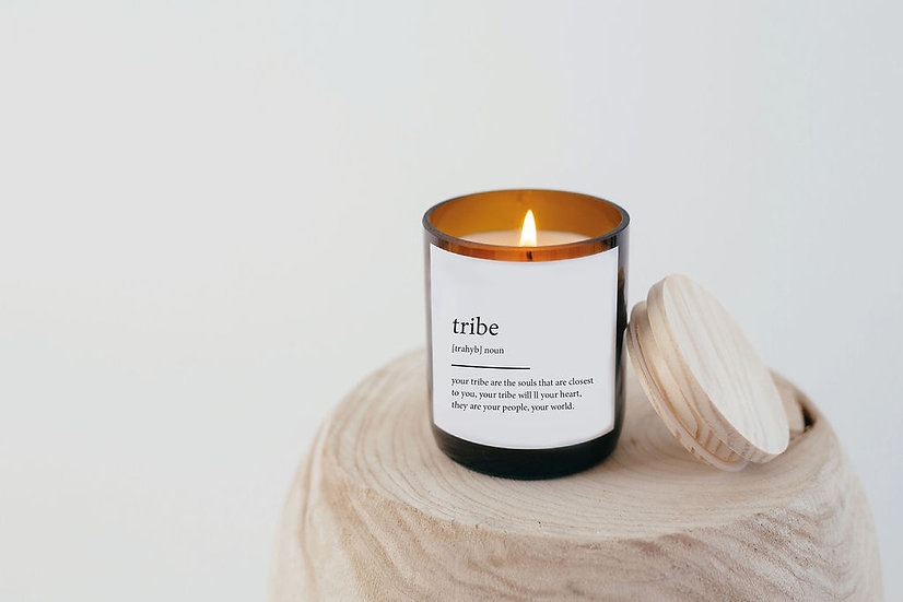 DICTIONARY SOY CANDLE - TRIBE