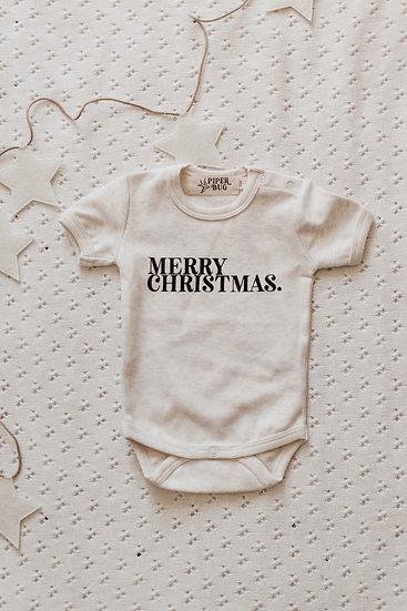 Merry Christmas Bodysuit / Tee