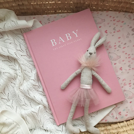 BABY JOURNAL BIRTH - 5 YEARS PINK