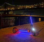 Electric Scooter NYC with LED Light Features